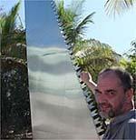 """Андрей Филиппов перед своей """"Пилой"""". Майями. 7 - 10 декабря 2006 года"""