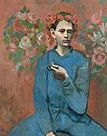 """Пабло Пикассо """"Мальчик с трубкой"""", 1905"""
